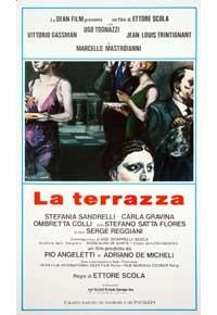 La copertina di La terrazza (dvd)