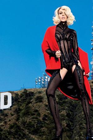 Lindsay Lohan torna a reinterpretare Marilyn Monroe sull'edizione spagnola di Vogue