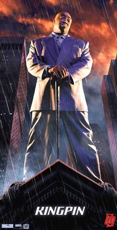 Un character poster di Kingpin (Michael Clarke Duncan) per il film Daredevil