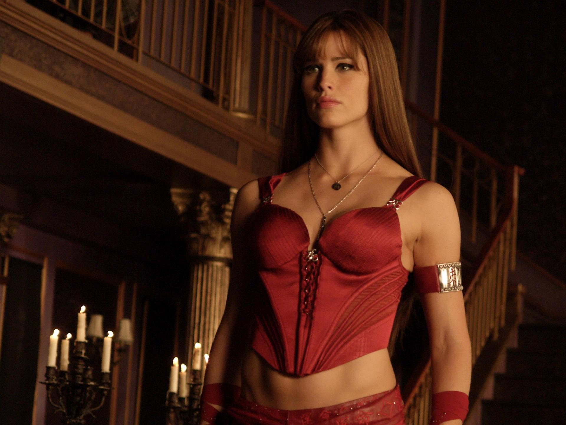 Un wallpaper di Jennifer Garner nel film Elektra