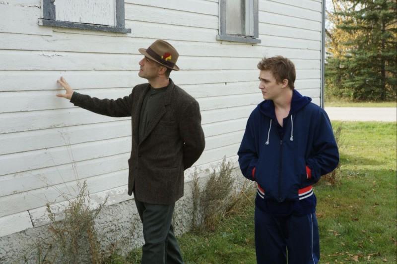 Elias Koteas e Kyle Gallner in un'immagine del film Il messaggero - The Haunting in Connecticut