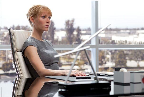 Gwyneth Paltrow in una scena di Iron Man 2