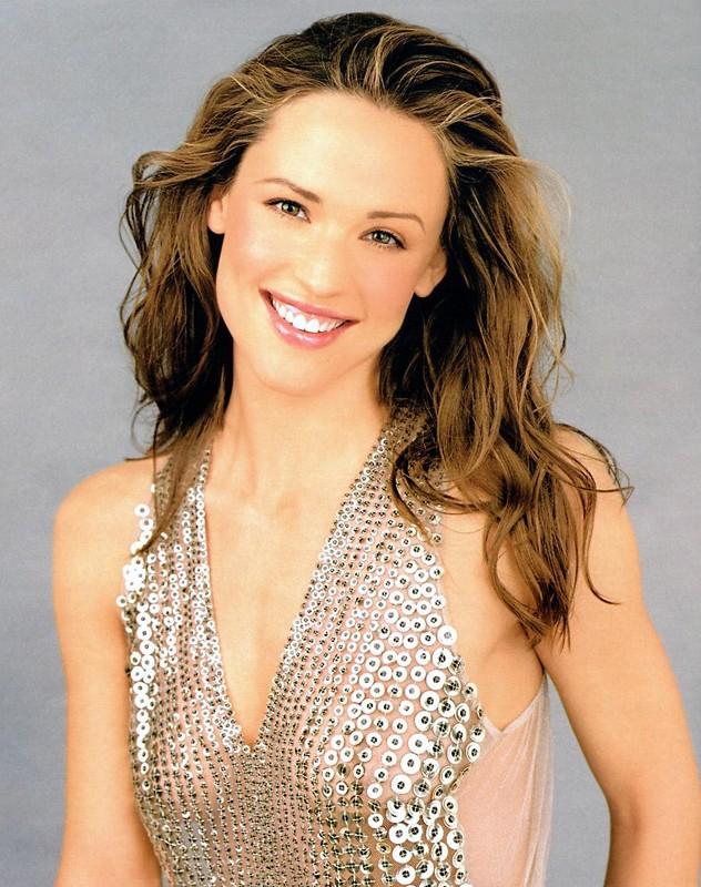 L'attrice Jennifer Garner con un sorriso splendente