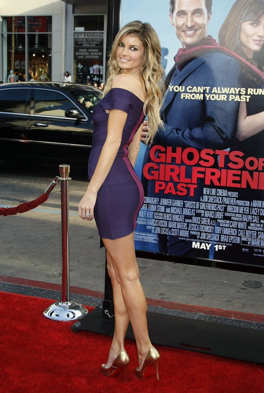 Marisa Miller alla premiere del film 'Ghosts of Girlfriends Past' a Los Angeles 2009