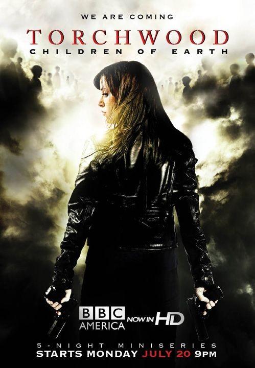 Uno dei poster della terza stagione di Torchwood