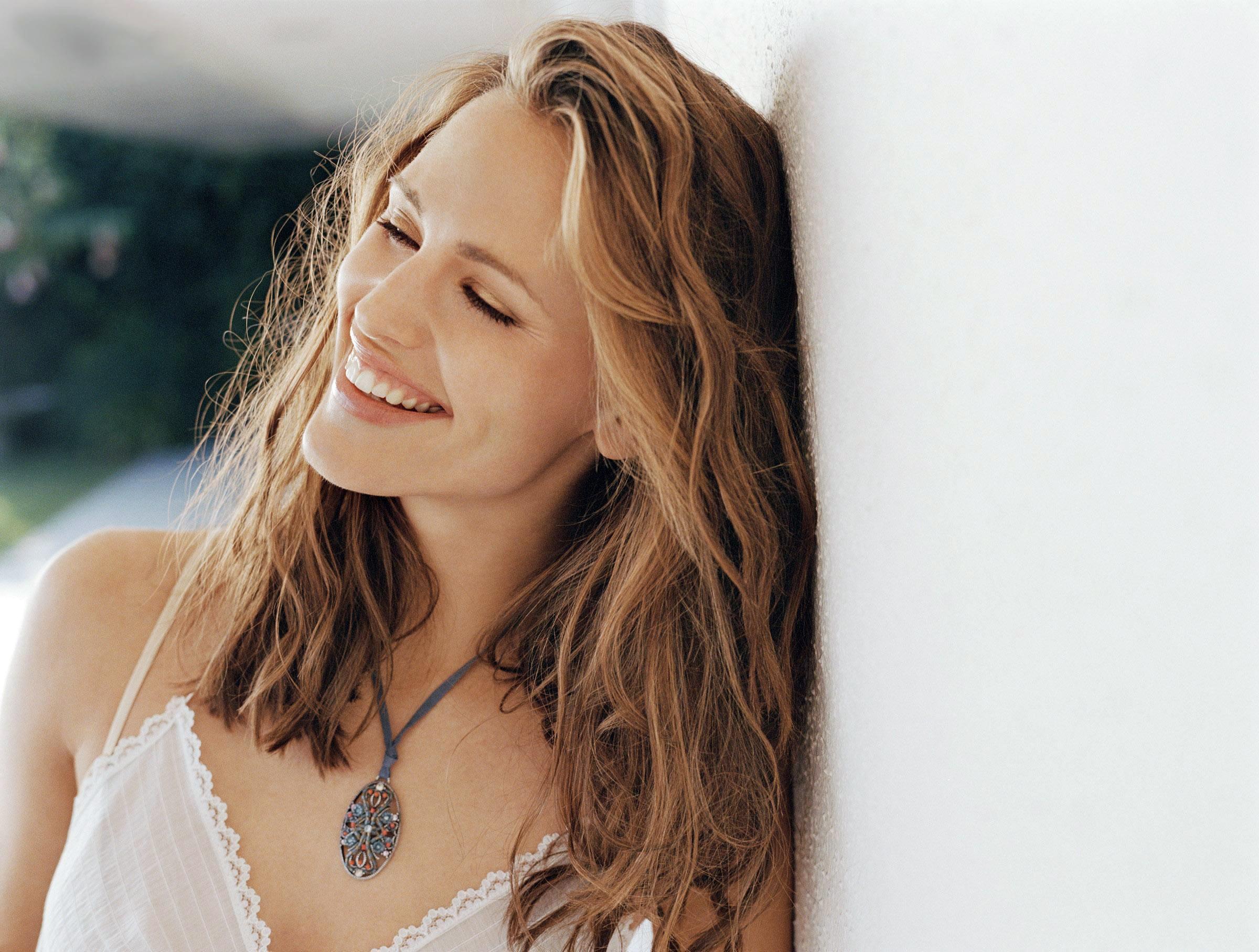 Wallpaper di Jennifer Garner sorridente