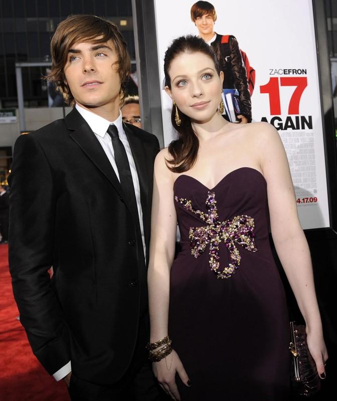 La premiere del film '17 Again - Ritorno al Liceo' con Michelle Trachtenberg e Zac Efron