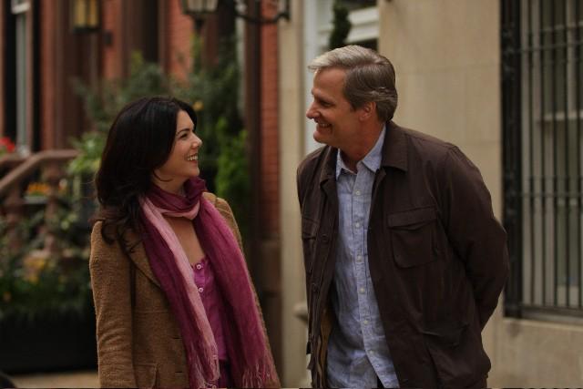 Lauren Graham e Jeff Daniels in una scena del film The Answer Man
