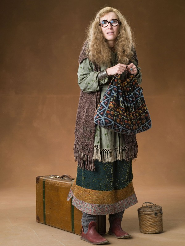 Maggie Smith in una foto promo del film Harry Potter e l'Ordine della Fenice