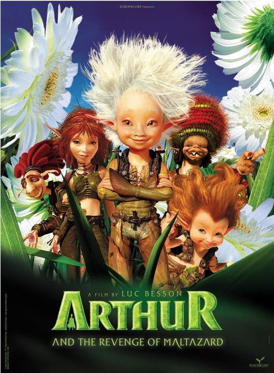 Primo poster internazionale per Arthur and the Vengeance of Maltazard