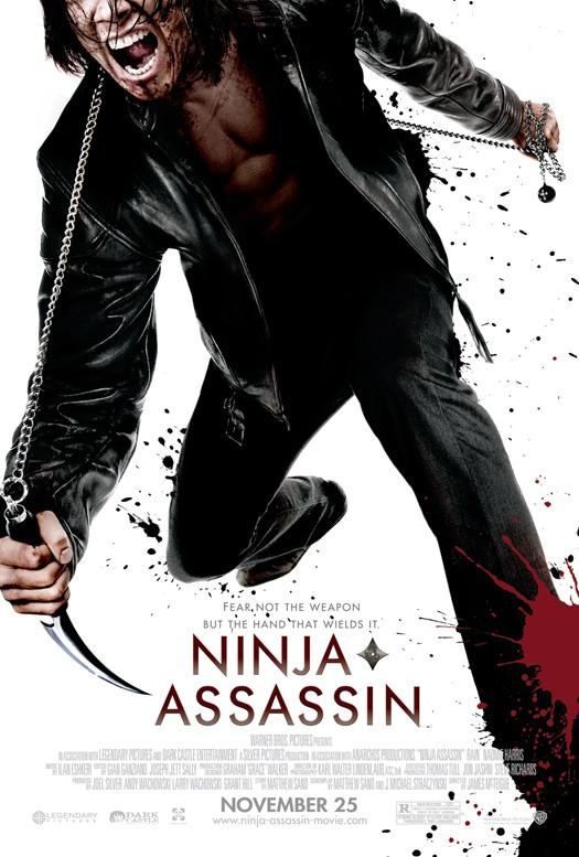 Un poster nuovo di zecca per Ninja Assassin