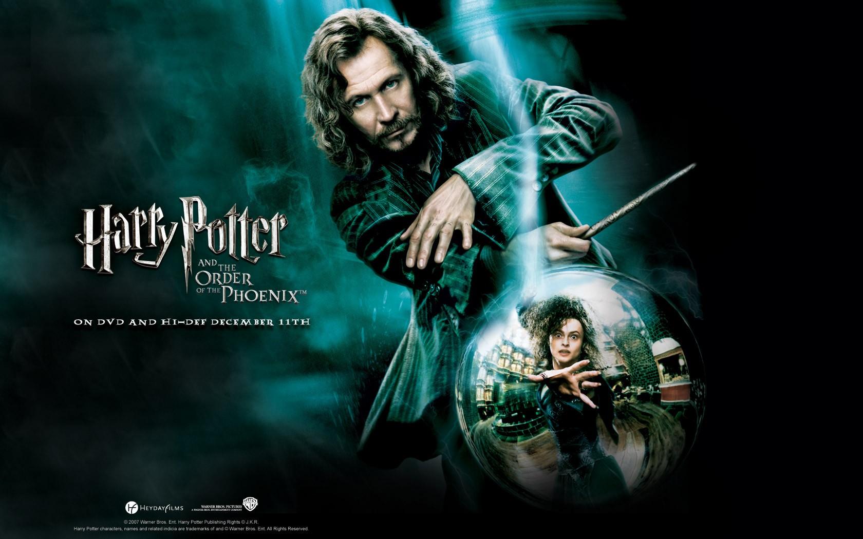 Un wallpaper ufficiale per Harry Potter and the Order of the Phoenix con Gary Oldman