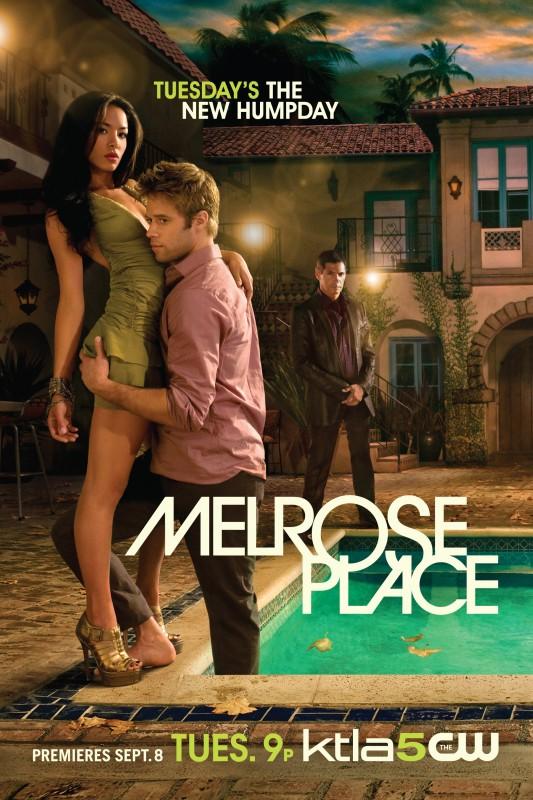 Una locandina della nuova versione di Melrose Place