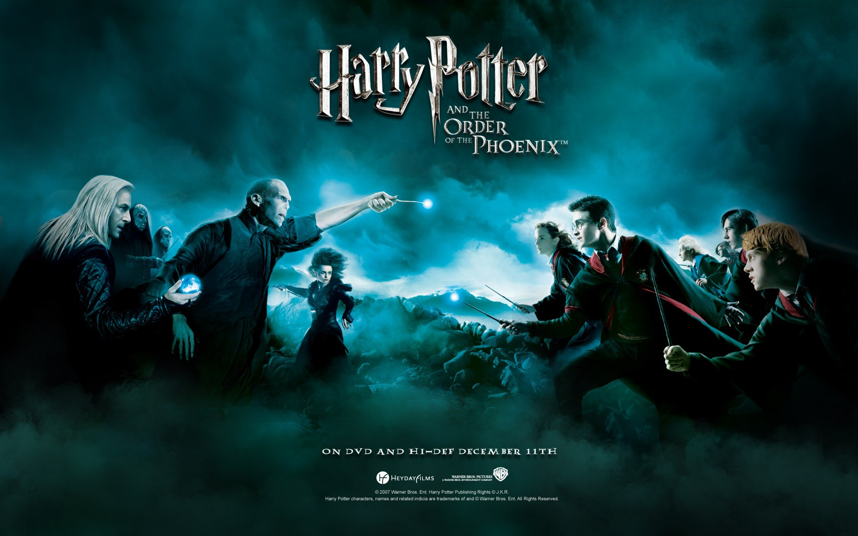 Wallpaper: continua la battaglia tra bene e male in Harry Potter e l'Ordine della Fenice