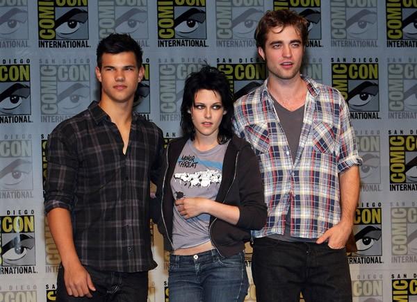 Comic-Con 2009 - Kristen Stewart, Robert Pattinson e Taylor Lautner presentano Twilight Saga: New Moon