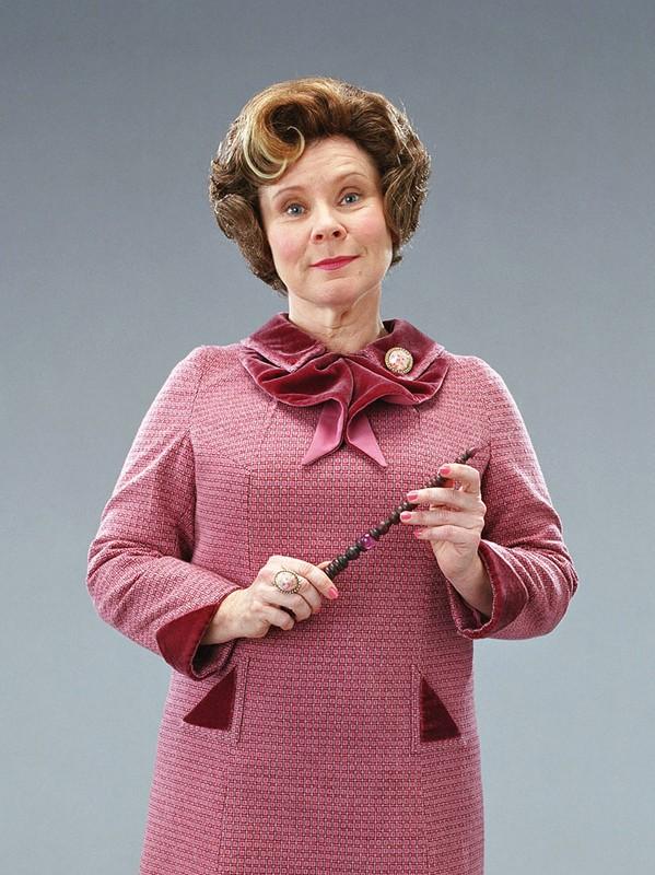 Imelda Staunton in una foto promozionale del film Harry Potter e l'Ordine della Fenice