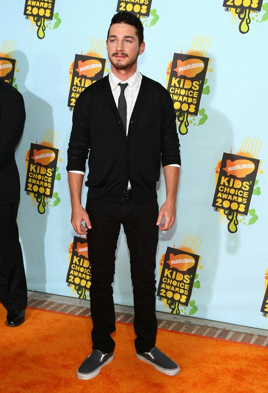 L'attore americano Shia LaBeouf ai Kids' Choice Awards 2008