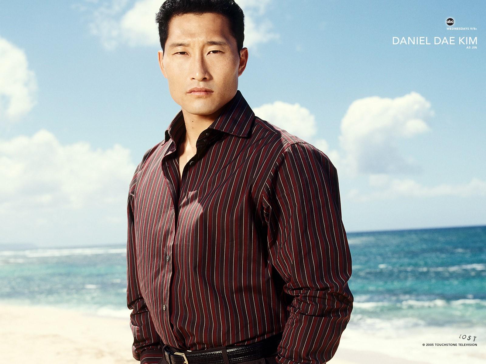 Un wallpaper di Daniel Dae Kim per la stagione 1 della serie 'Lost'