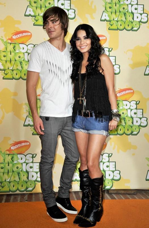Zac Efron e Vanessa Hudgens ai Kids' Choice Awards 2009