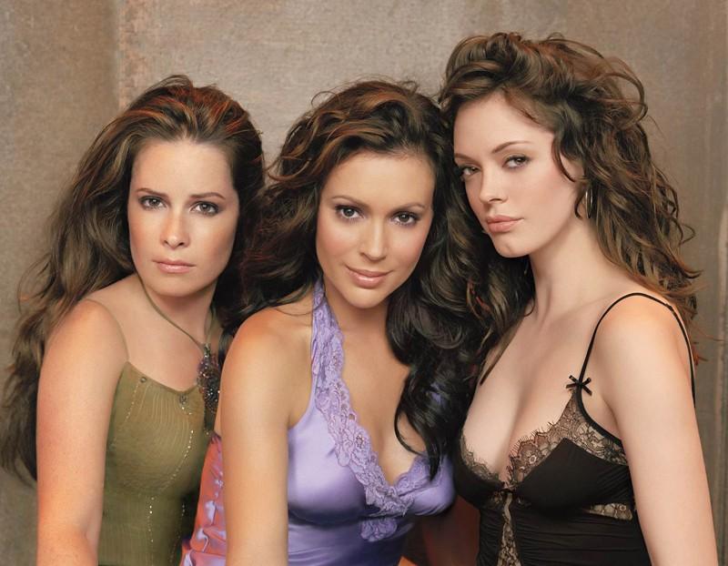 Holly Marie Combs, Alyssa Milanoe e Rose McGowan per la season 8 di Charmed