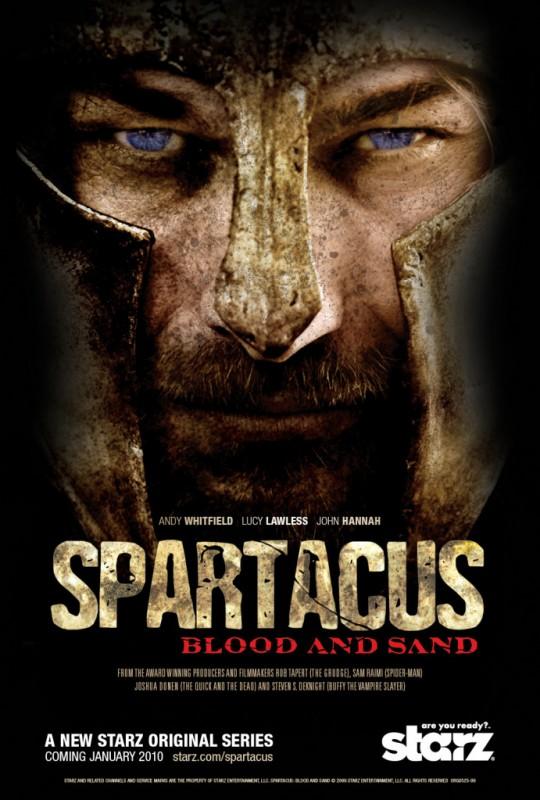 La locandina di Spartacus: Blood and Sand