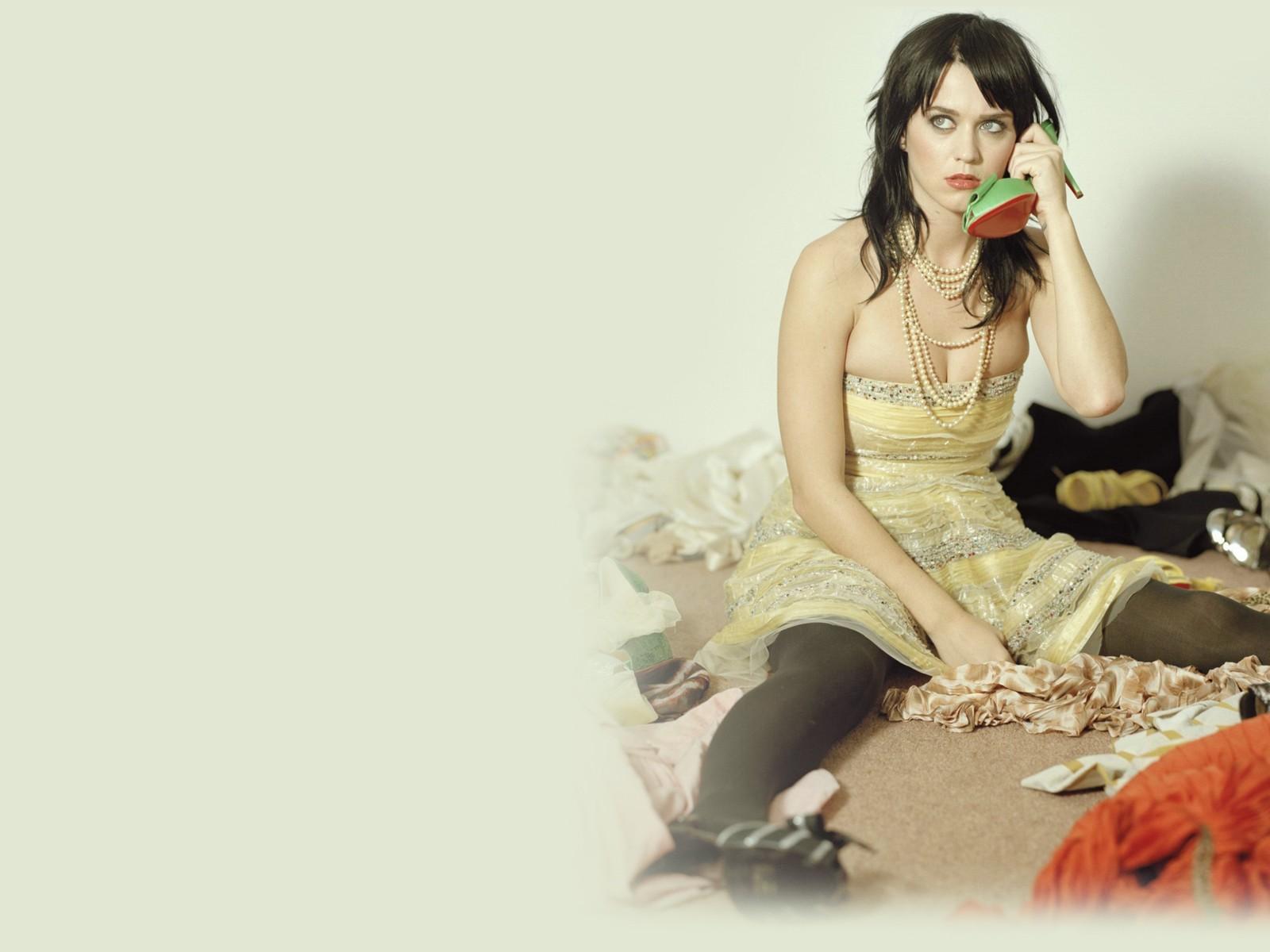 Un wallpaper di Katy Perry