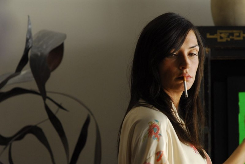 Famke Janssen in una scena del film Fa' la cosa sbagliata - The Wackness