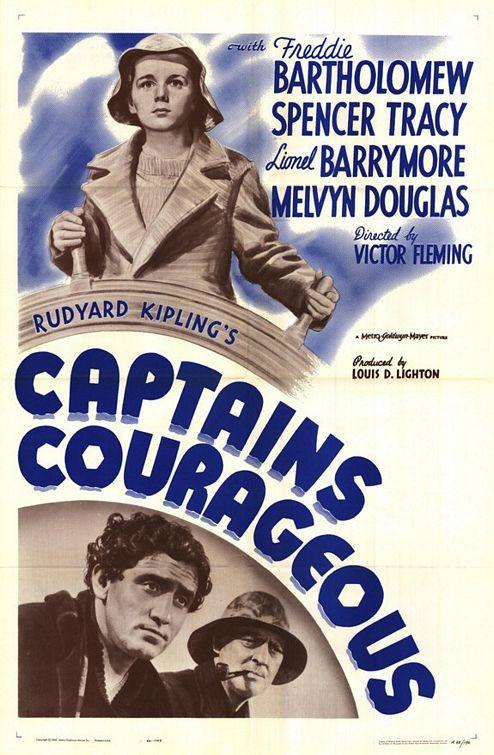 La locandina di Capitani coraggiosi