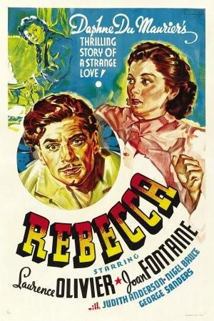 Locandina americana del 1940 del film Rebecca, la prima moglie