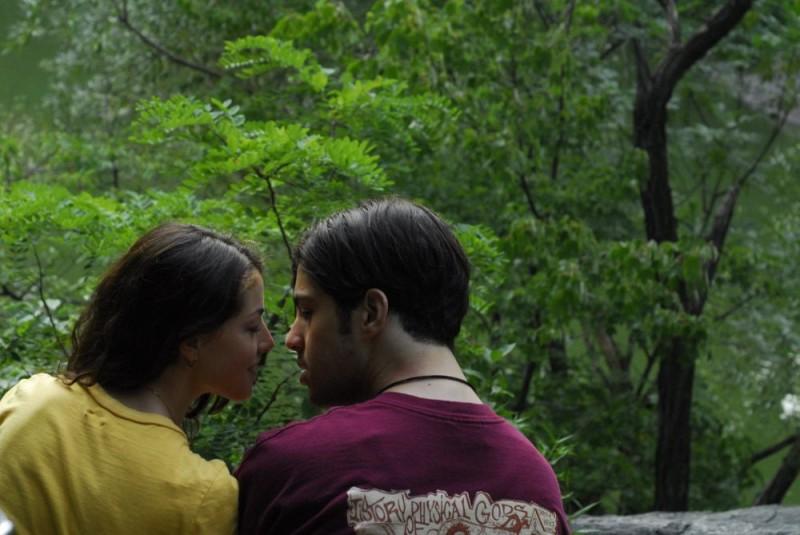 Olivia Thirlby e Josh Peck in un'immagine del film Fa' la cosa sbagliata - The Wackness