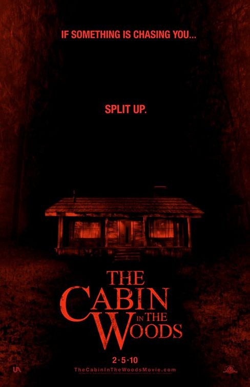 Terzo Teaser Poster USA per The Cabin in the Woods