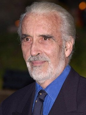Una foto di Christopher Lee