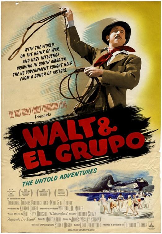 Nuovo poster per il documentario Walt & El Grupo