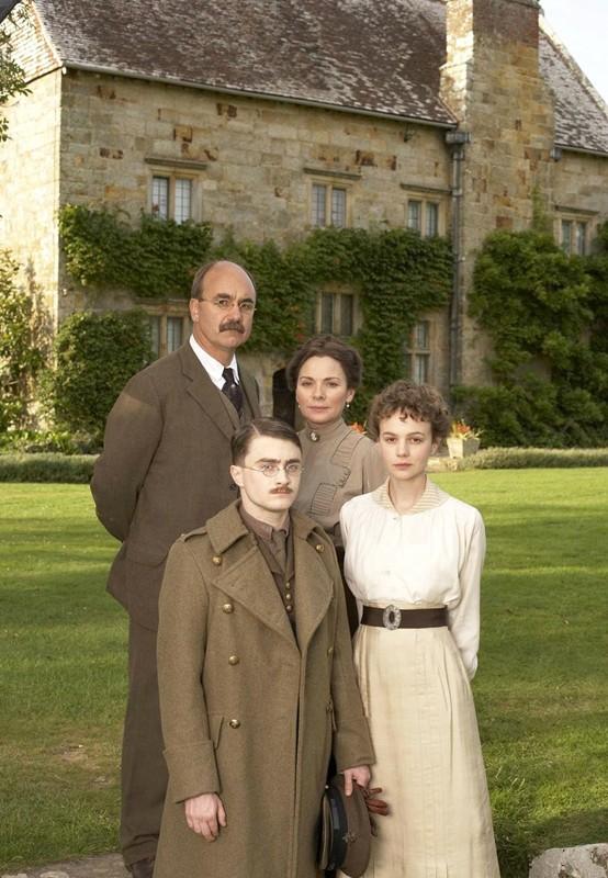 Una foto della famiglia Kipling per il film My Boy Jack