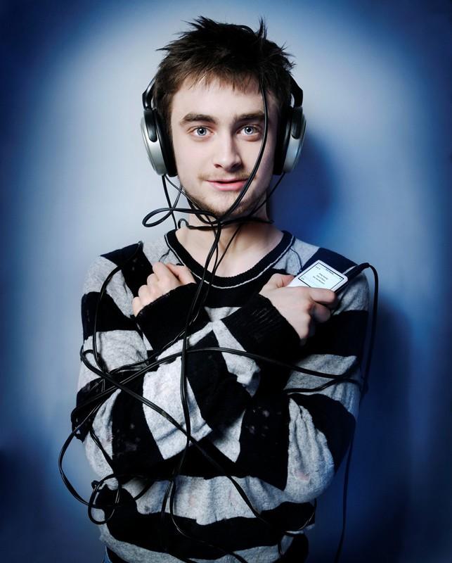 Una foto promozionale dell'attore Daniel Radcliffe