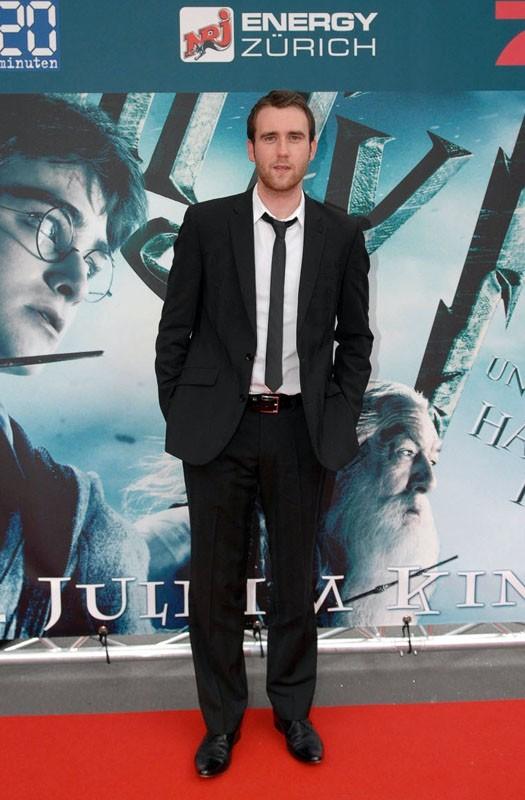 Matthew Lewis alla premiere del film 'Harry Potter e il principe mezzosangue' a Zurigo, il 10 Luglio 2009