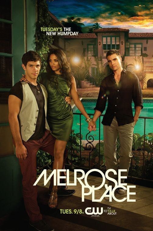 Un poster della nuova versione di Melrose Place in onda da settembre 2009 sul network CW