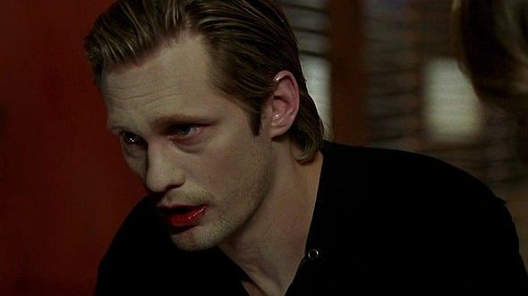 Alexander Skarsgård in un'immagine dell'episodio 'Hard-Harted Hannah' della serie tv True Blood