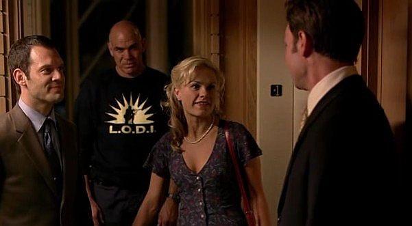 Christopher Gartin e Anna Paquin in una scena dell'episodio 'Hard-Harted Hannah' della serie tv True Blood