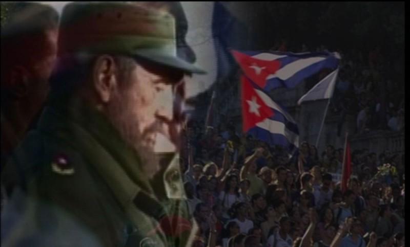Fidel Castro in un'immagine del documentario L'oro di Cuba, di Giuliano Montaldo