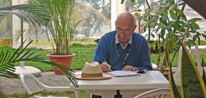 Giuliano Montaldo in una scena de L'oro di Cuba