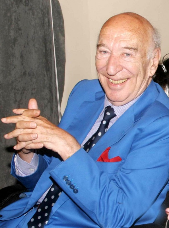 Il regista Giuliano Montaldo
