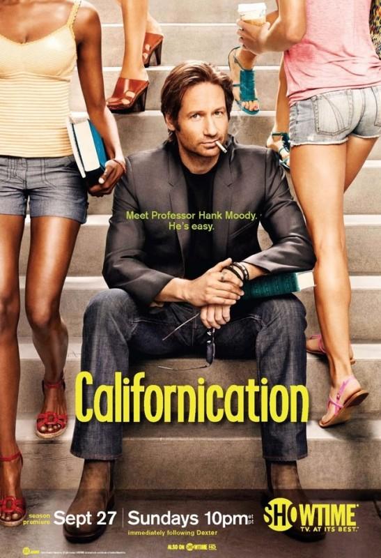 La locandina della Stagione 3 di Californication