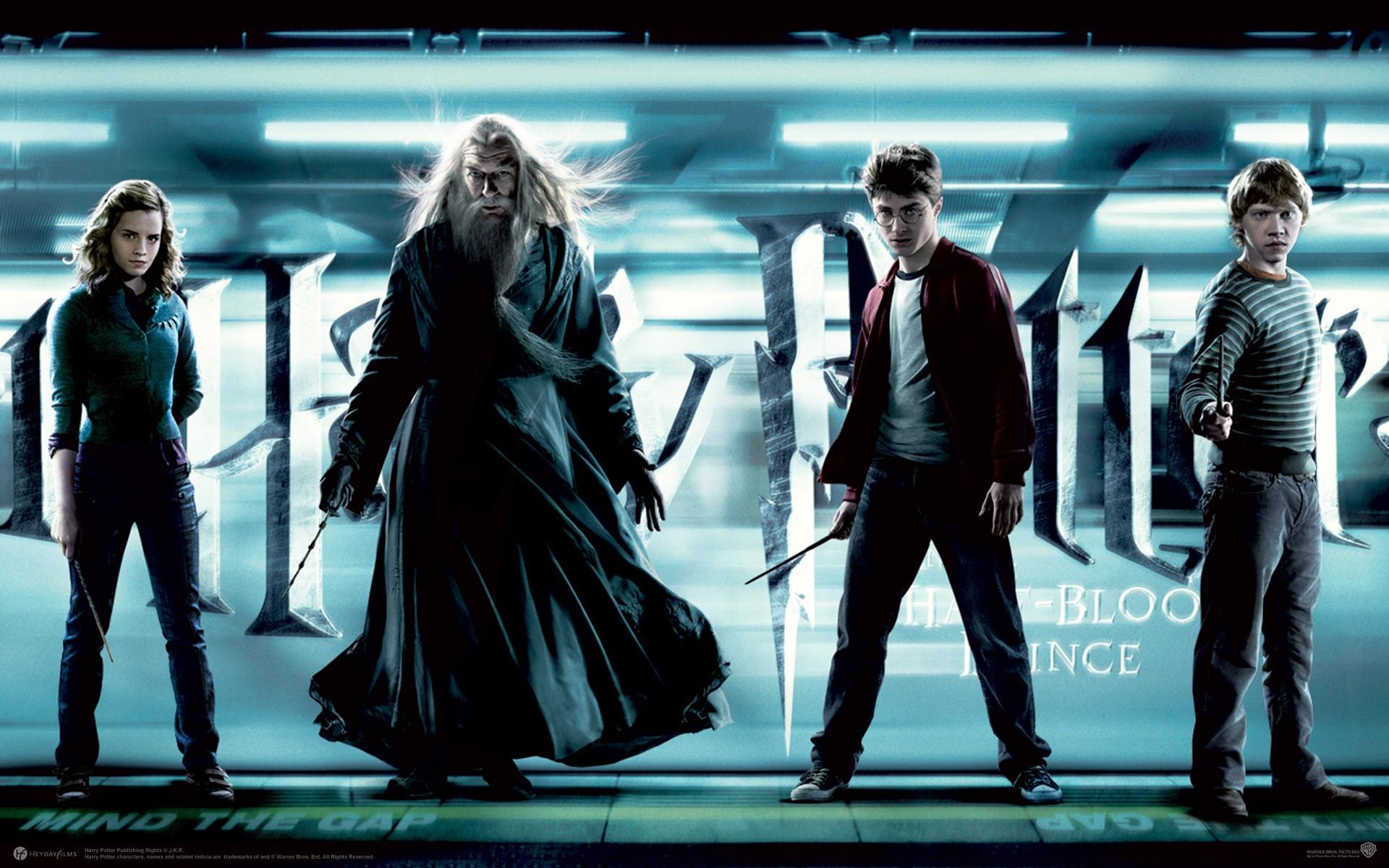 Un wallpaper della fazione dei buoni per il film Harry Potter and the Half-Blood Prince