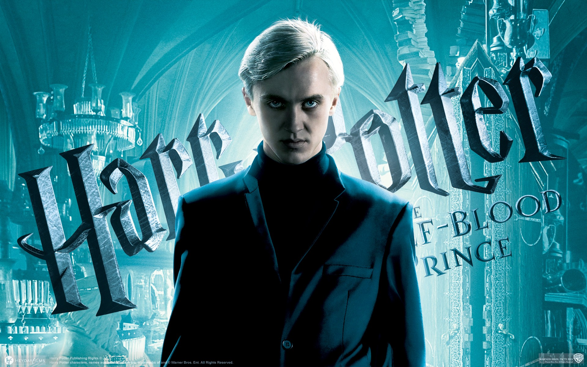 Un wallpaper ufficiale di Tom Felton per Harry Potter e il Principe Mezzosangue