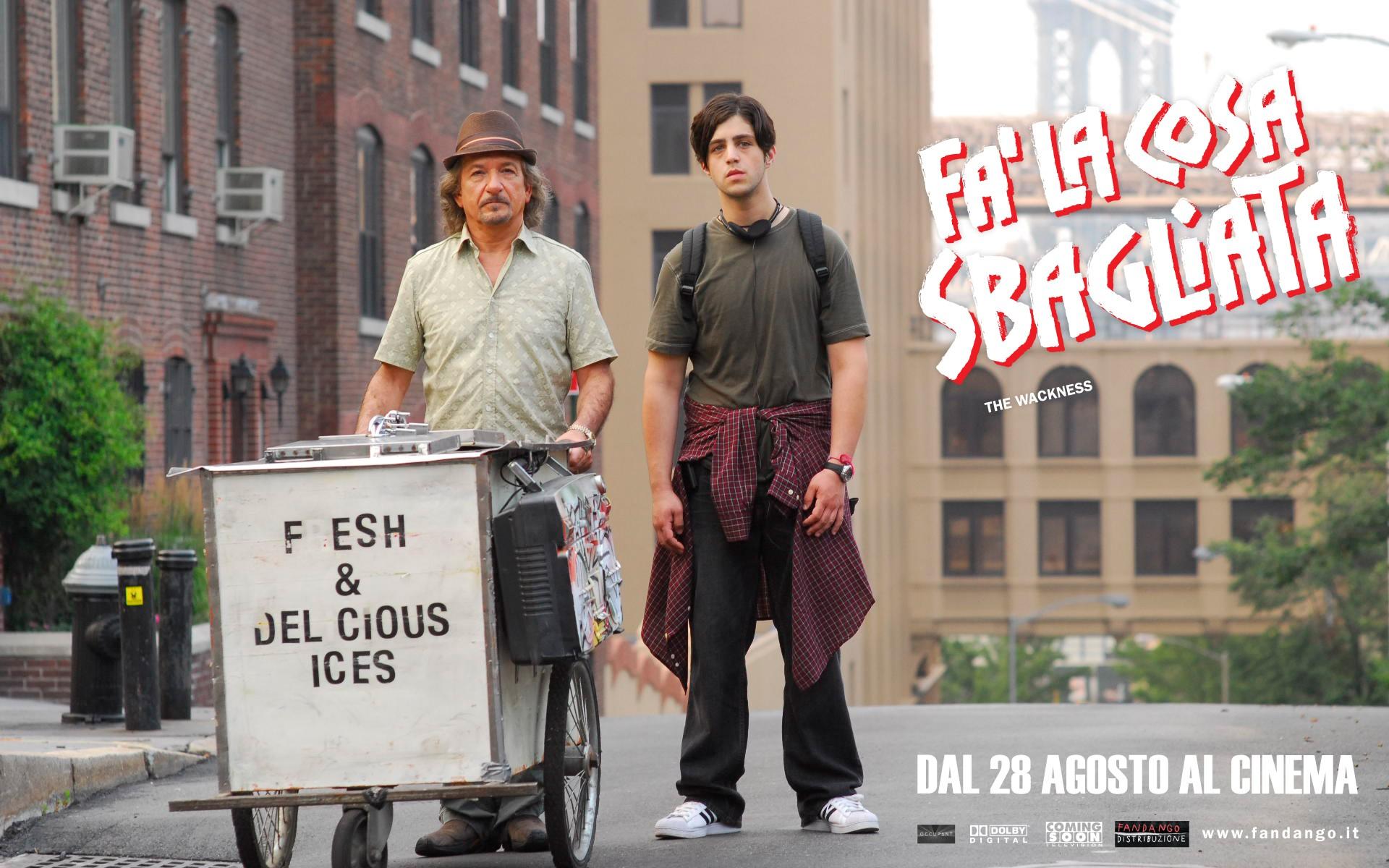 Wallpaper: Ben Kingsley e Josh Peck sono i protagonisti del film Fa' la cosa sbagliata - The Wackness