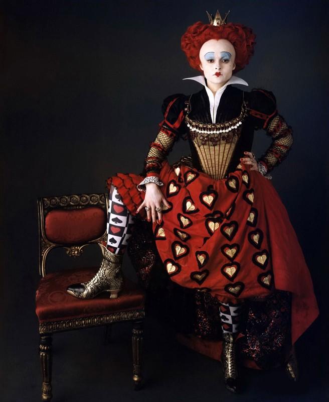 Helena Bonham Carter, Regina di Cuori in Alice in Wonderland di Tim Burton