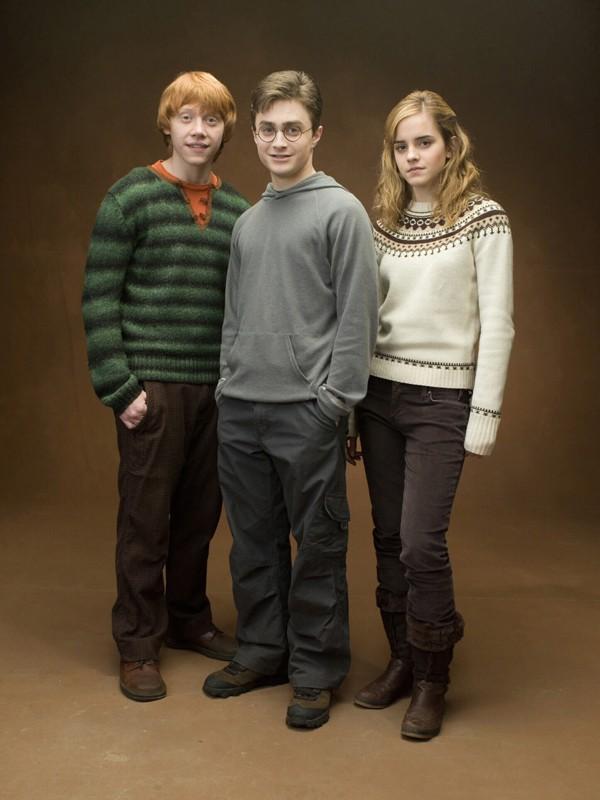 Il magico trio del film 'Harry Potter and the Order of the Phoenix'