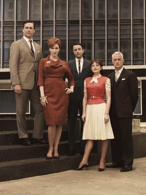 Il cast della stagione 3 di Mad Men