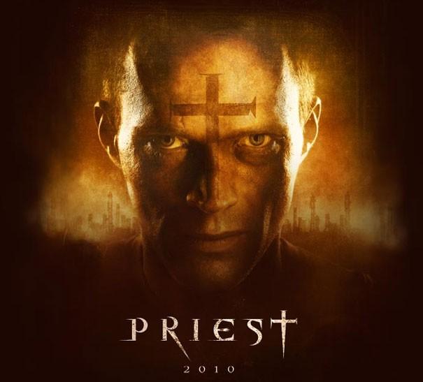 La prima immagine di Pual Bettany in Priest